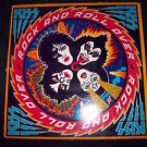 KISS ROCK AND ROLL OVER LP RECORD 1976