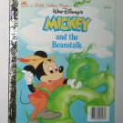 Disney Mickey and the Beanstalk Little Golden Book 1988