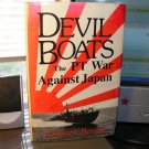 Devil Boats PT War Against Japan William Breuer 1987 WWII