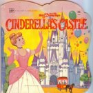 Disney Cinderella's Castle Golden Shape Book 1972
