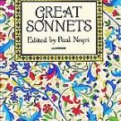 Great Sonnets Edited by Paul Negri 1994
