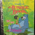 Disney THE JUNGLE BOOK Little Golden Book 1997