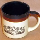 1986 Hardee's Rise Shine Homemade Biscuits Coffee Mug