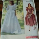 Vogue 2399 Bridal Wedding Dress Misses 12-16 1989