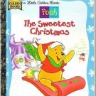 Winnie the Pooh The Sweetest Christmas Little Golden Book 1997