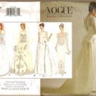 Vogue 1325 Bridal Original Dress Train Misses 6-10 1994