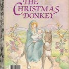 The Christmas Donkey Little Golden Book 1984