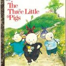 The Three Little Pigs Little Golden Book Chick-fil-A 1973