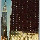 New York Statler Hotel Postcard 1980s