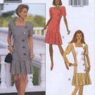 Butterick 6198 Semi-Fitted Dress Misses 6-10 1992