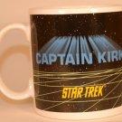 STAR TREK CAPTAIN KIRK Hamilton Mug 1991