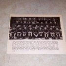 NATIONAL BIG TEN CHAMPIONS 1934 FOOTBALL TEAM PHOTO