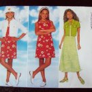 Butterick 4838 Jacket Dress Girls 12-14 1997