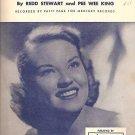 Tennessee Waltz Sheet Music Patti Page 1948