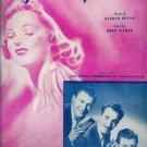 Peg O' My Heart Sheet Music 1947
