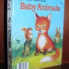 BABY ANIMALS Garth Williams Little Golden Book 1956