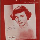 TILL I WALTZ AGAIN WITH YOU SHEET MUSIC TERESA BREWER 1952