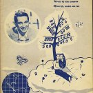 A DREAMER'S HOLIDAY SHEET MUSIC PERRY COMO 1959
