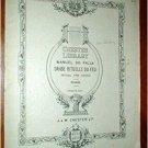 DANSE RITUELLE DU FEU Ritual Fire Dance De Falla PIANO 1921