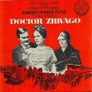 Doctor Zhivago Sheet Music Omar Sharif 1965-