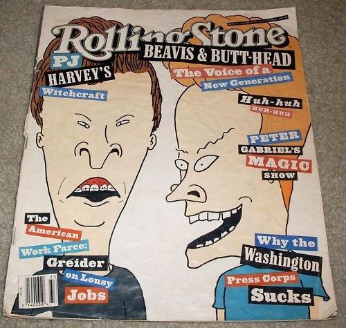 Rolling Stone Magazine Beavis Butt-Head August 1993