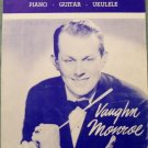 ON TOP OF OLD SMOKY Sheet Music 1951 Vaughn Monroe