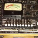 PRECISION 612 TUBE BATTERY TESTER OAK CASE 1950s
