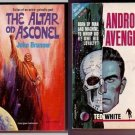 THE ALTAR ON ASCONEL ANDROID AVENGER Brunner White 1965 SciFi