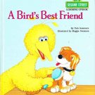 Sesame Street Big Bird Four Golden Books 1980s