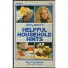 Betty-Anne's Helpful Household Hints Volume 1 1983