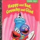 Sesame Street Little Golden Books Attic Christmas Happy Sad 4 Bks