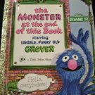Sesame Street Golden Books Monster Together Attic Grouch 4 Bks