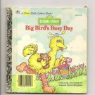 Sesame Street Golden Books Peek-A--Boo Big Bird 4 Books