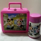 DISNEY MICKEY MINNIE LE CAFE PARIS ALADDIN LUNCHBOX