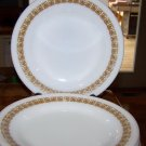 PYREX TABLEWARE CORNING TIBURON GOLD PLATES BOWL  1970s