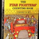 Fire Fighters' My First Counting Book 2 Little Golden Books