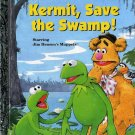 Kermit Save the Swamp Happy Sad Little Golden Books + Bonus