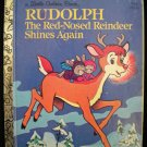 Rudolph The Red-Nosed Reindeer 2 Little Golden Books