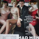 ROLLING STONE SEPTEMBER 2010 MAD MEN FOOTBALL SCHEDULE