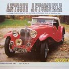Antique Automobile Magazine Sept Oct 1992 A.C. Ace 1937
