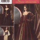 Simplicity 4488 Renaissance Maiden Costumes Misses 16-24