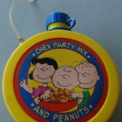 CHEX PARTY MIX AND PEANUTS CANTEEN 1990 Set of 4