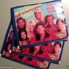 1996 BAYWATCH 10 Sticker Packs Pam Anderson David Hass​elhoff