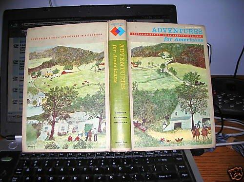 Adventures for Americans Companion Series Adventures in Literature