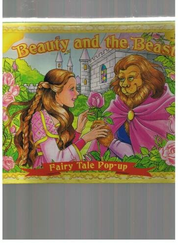 Beauty and the Beast Fairy Tale Pop Up Book 1999