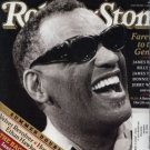 ROLLING STONE Magazine Ray Charles Tribute July 2004