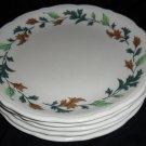Syracuse Restaurant China Oak Leaves 2 Plates
