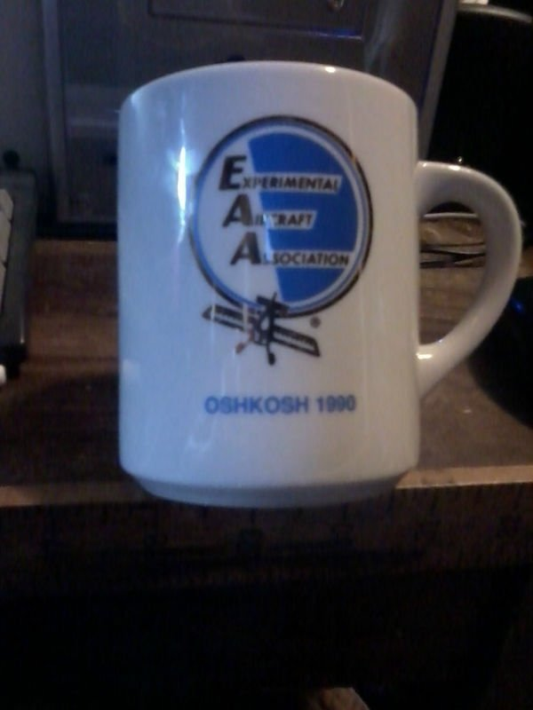 Experimental Aircraft Association Mug 1997