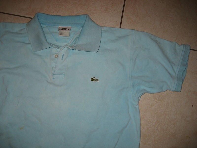 LACOSTE France Blue Pique Polo Shirt 4 Small