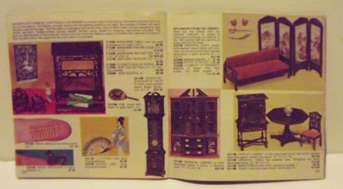 Lynne's Miniature Treasures Catalog 1981 Dollhouses